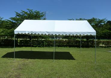 リサイクル素材テント